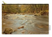 Pemigewasset River Rushing By Carry-all Pouch