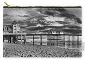 Penarth Pier Panorama Monochrome Carry-all Pouch