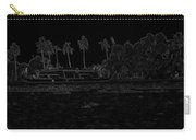 Pencil - A Houseboat On Its Quiet Sojourn Through The Backwaters Carry-all Pouch