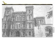 Pencil Drawing Of Old Jail Carry-all Pouch