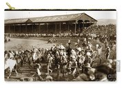 Pendleton Round-up Oregon Lewis Josselyn Photo Sept. 1929 Carry-all Pouch