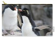 Penguin New Baby Card Carry-all Pouch