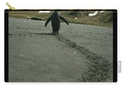 Penguin Travel Poster Carry-all Pouch