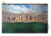 Penguins On Ice Carry-all Pouch