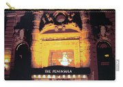 Peninsula Hotel New York Carry-all Pouch