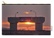 Penns Landing Arch At Sunrise Carry-all Pouch