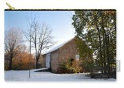 Pennsylvania Barn In October Snow Carry-all Pouch
