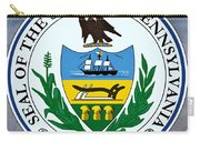 Pennsylvania State Seal Carry-all Pouch