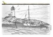 Peggy's Cove Lighthouse Nova Scotia Carry-all Pouch