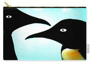 Penquin Love Carry-all Pouch by Colette V Hera  Guggenheim