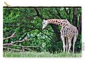 Pensive Giraffe Carry-all Pouch