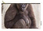 Pensive Gorilla Carry-all Pouch