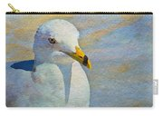 Pensive Seagull Carry-all Pouch