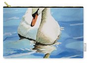 Pensive Swan Carry-all Pouch