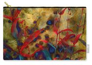Penstemon Abstract 2 Carry-all Pouch