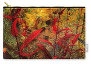 Penstemon Abstract 5 Carry-all Pouch