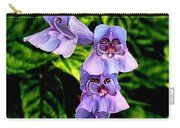 Penstemon Carry-all Pouch
