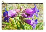 Penstemon On Miles Canyon Trail To Canyon City Near Whitehorse-yk  Carry-all Pouch