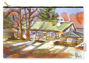 Penuel Lodge In Winter Sunlight Carry-all Pouch