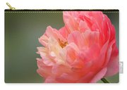 Peony Portrait Carry-all Pouch