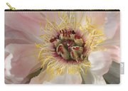 Peonie In Soft Pink Carry-all Pouch