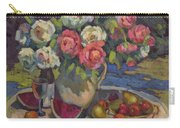 Peonies And Summer Fruit Carry-all Pouch