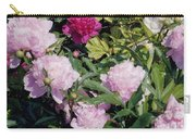 Peonies In Pinks Carry-all Pouch