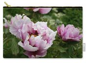 Peony Bush Carry-all Pouch