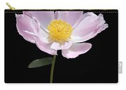 Peony Flower Portrait Carry-all Pouch