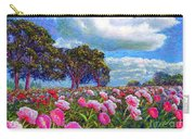 Peony Heaven Carry-all Pouch by Jane Small