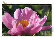 Peony Pink Carry-all Pouch