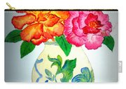 Peonys In Vase Carry-all Pouch