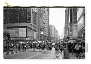 People Crossing The Street On A Rainy Day In Mong Kok Hong Kong Carry-all Pouch