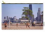 People Playing Beach Volleyball Carry-all Pouch