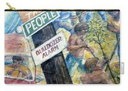 People's Wall Berkeley Ca 1977 Carry-all Pouch