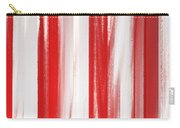 Peppermint Stick Abstract Carry-all Pouch
