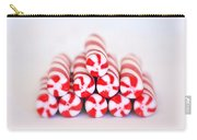 Peppermint Twist - Candy Canes Carry-all Pouch