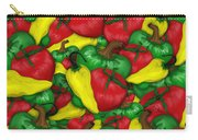 Peppers And Tomatos Carry-all Pouch