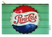Pepsi Cap Carry-all Pouch by David Lee Thompson