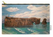 Perce Rock Gaspe  Quebec Carry-all Pouch