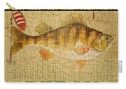 Perch On Burlap Carry-all Pouch