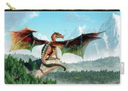 Perched Dragon Carry-all Pouch