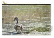 Perched Quacker Carry-all Pouch
