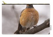 Perched Robin Carry-all Pouch