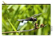 Perched Widow Skimmer Carry-all Pouch