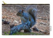 Perching Squirrel Carry-all Pouch