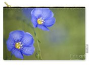 Perennial Flax Flowers Carry-all Pouch