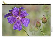Perennial Geranium Carry-all Pouch