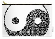 Perfect Balance 1 - Yin And Yang Stone Rock'd Art By Sharon Cummings Carry-all Pouch
