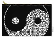 Perfect Balance 2 - Yin And Yang Stone Rock'd Art By Sharon Cummings Carry-all Pouch